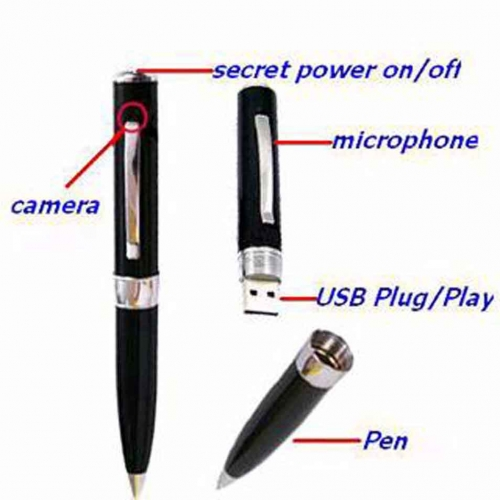 Hd Spy Pen Camera With Built In 32gb Memory Card In Dhaka Price 1000 In Bd