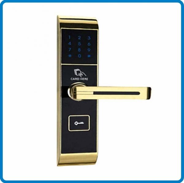 Digital Hotel Door Lock Touch Screen Password System In