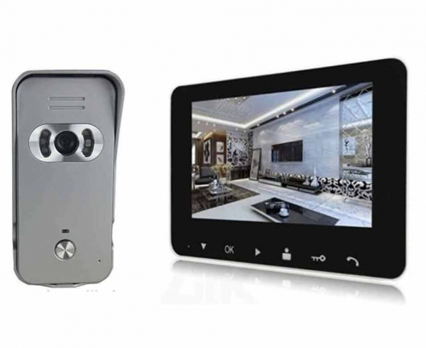 Monitor can take/ save/ view more than 100photos automatically.  sc 1 st  Nanosoft System & Wireless Video Door Monitoring Security Intercom Phone Dhaka price ...