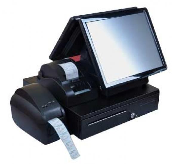 Touch-screen cash register pos machine supermarket shop in