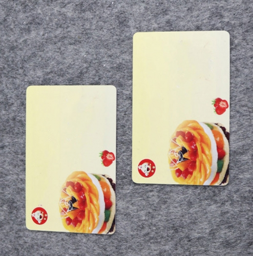 Hotel restaurant club VIP membership PVC RFID card design